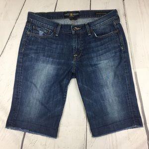 Lucky Brand Sweet n Low Bermuda Cut off Short